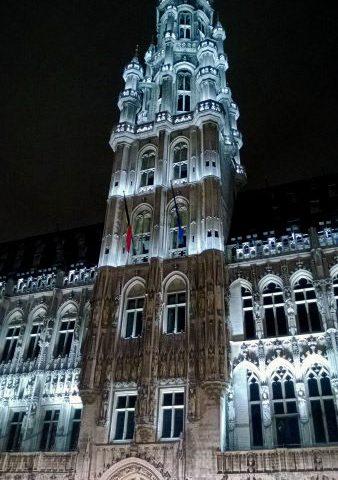 Grand Place - Karácsonykor